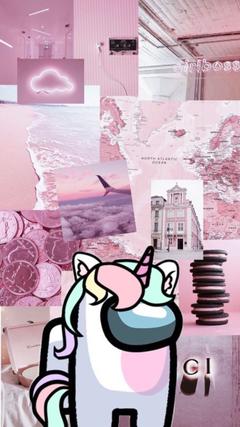 Unicorn among us wallpapers
