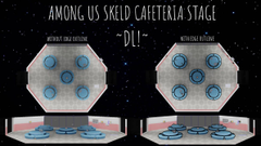 MMD Among Us Skeld Cafeteria Stage UPDATE DL by That