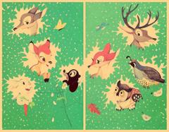 Disney Hipster Blog Vintage Bambi Desktop Wallpapers