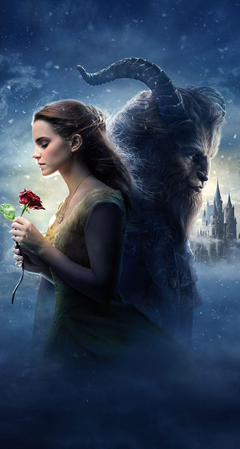 Disney the beauty and the beast wallpapers for iphone with Emma