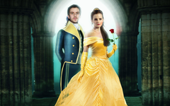 Beauty And The Beast Dan Stevens Emma Watson Wallpapers
