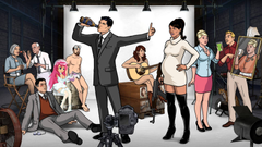 Archer Drinking HD Wallpapers