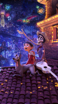 Coco Miguel Dante Pixar phone wallpapers by msband3