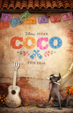 First Poster For Disney Pixar s Coco movies