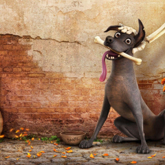 Wallpapers Coco dog guitar best animation movies Movies