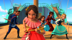 Spanish Elena of Avalor Main Title