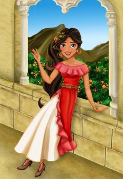 Elena of Avalor by Jade