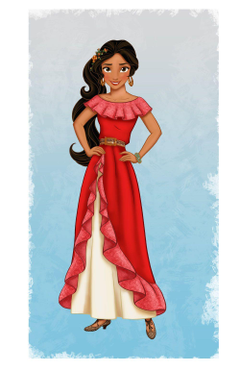 Meet Disney s Newest Princess Elena of Avalor