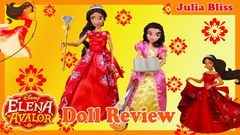 Disney Princess Elena of Avalor Deluxe Singing Doll Set Review