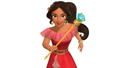Elena of Avalor Royal Welcome held at the Magic Kingdom today