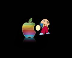 Stewie hates Mac