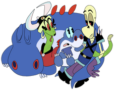 Pin Mighty Magiswords Grub Wall Paper Image to Pinterest