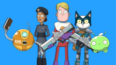 The Soda Parlor s Olan Rogers Final Space cartoon picked up by