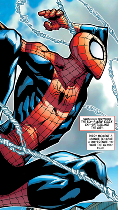 Marvel Unlimited is great for getting the perfect Spider