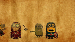 Avenger minions Wallpapers