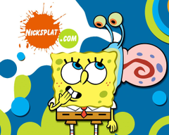 Gary and Spongebob Wallpapers