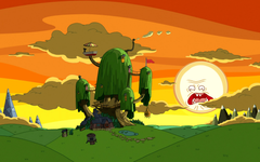 I made a Rick and Morty Adventure Time wallpapers for those who are