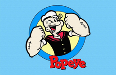 Popeye the Sailor Man HD Image for Sony XPeria Z2