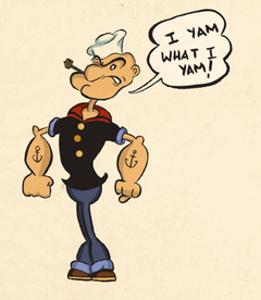 Popeye the Sailor Man Full HD Image Wallpapers for PC