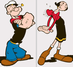 Pics Popeye and Olivia Cartoon I Pad Tablet Mobile Backgrounds Image