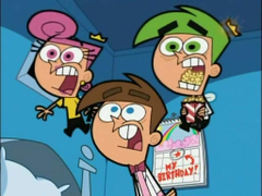 The Fairly OddParents Personalized Edible Frosting Image 1 4 sheet
