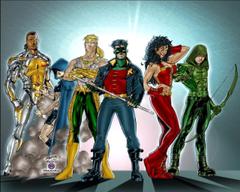 cartoon network teen titans