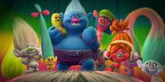 Trolls characters HD wallpapers
