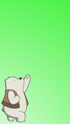 Ice Bear wallpapers to your cell phone
