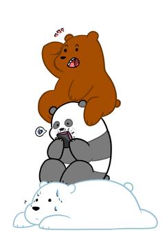 We Bare Bears favourites by AlyssaFazbear
