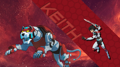 I made a few Voltron Legendary Defender wallpapers