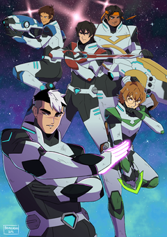 Voltron Legendary Defender Image Reveal the New Team Collider