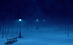 Aesthetic mood lonely bench HD photography wallpapers 6
