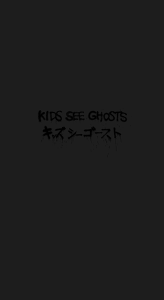 Kids See Ghosts Kanye iPhone Wallpapers