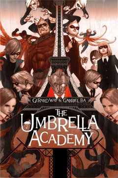Why Should I Read The Umbrella Academy Rear View Reviews