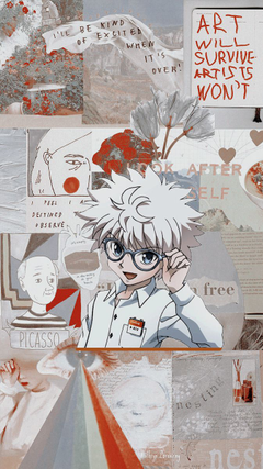hunter x hunter Lockscreens Tumblr posts