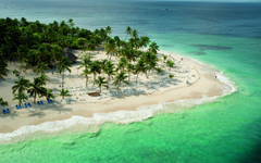Aerial view of coast landscape wallpaperforu