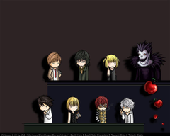 Death Note Chibi Wallpapers
