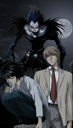 Uhh here s a death note wallpapers I weheartit