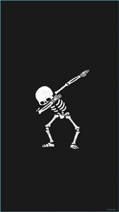 Aesthetic Halloween Wallpapers Skeleton anupghosal