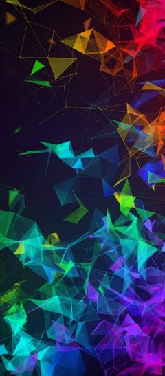 Multi Color Polygon