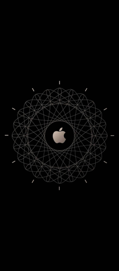 Apple Logo Brown Technology