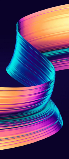 Girly 3D Layer Abstract