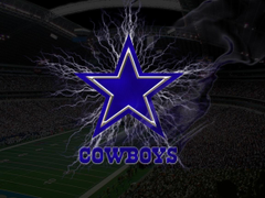 Lighting Dallas Cowboys Logo Wallpapers HD Backgrounds Wallpapers