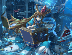 2048x1556 Brave Frontier Magic Library Water Drops