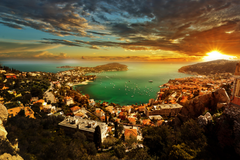 View of Monaco Sunset 4k Ultra HD Wallpapers