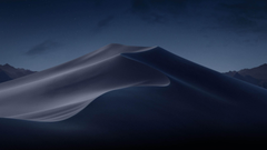 Wallpapers macOS Mojave Night Dunes WWDC 2018 4K OS