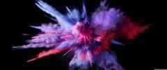 Purple Color Burst 4K HD Desktop Wallpapers for Wide Ultra