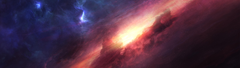 x1440 Space nebula cropped from 5K Pics multiwall