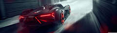 Lamborghini Terzo Millennio Electric Supercar Rear Ultra HD Desktop Backgrounds Wallpapers for 4K UHD TV Widescreen UltraWide Desktop Laptop Multi Display Dual Monitor Tablet Smartphone