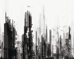 sci fi City Cities Artwork Art Futuristic Wallpapers HD